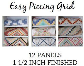 12 Panel 1.5 Inch Pre-Cut
