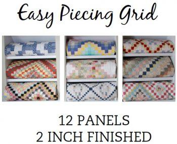 12 Panel 2 Inch Pre-Cut