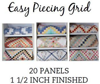 20 Panel 1.5 Inch Pre-Cut