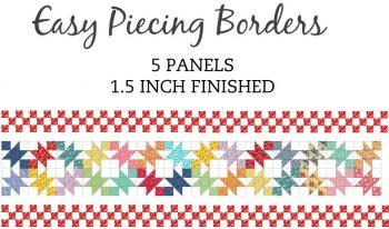5 Panel 1.5 Inch Border Pre-Cut