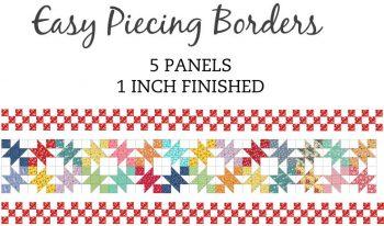 5 Panel 1 Inch Border Pre-Cut