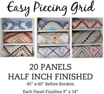 20 Panel HALF Inch Pre-Cut
