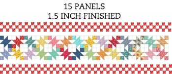 15 Panel 1.5 Inch On-Point Border Pre-Cut